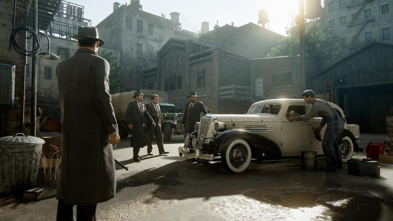 В сети появилось первое видео обновленной игры Mafia с реалистичной графикой