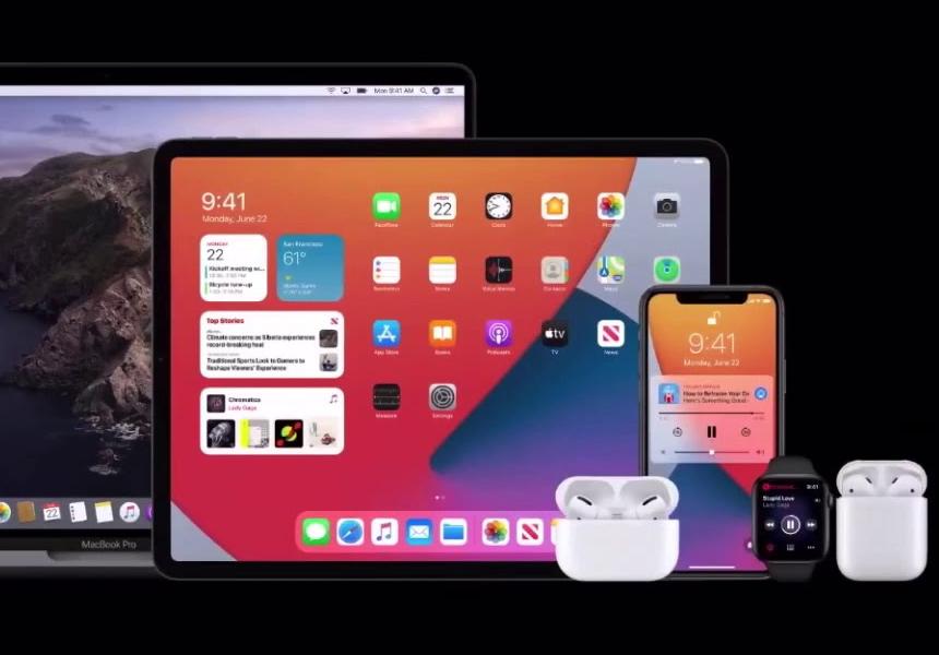Apple добавила новые функции в беспроводные наушники и «умные» часы