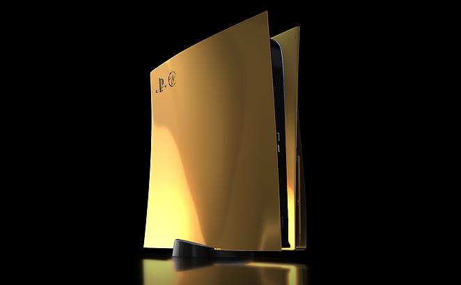 Представлена сверхдорогая золотая PlayStation 5