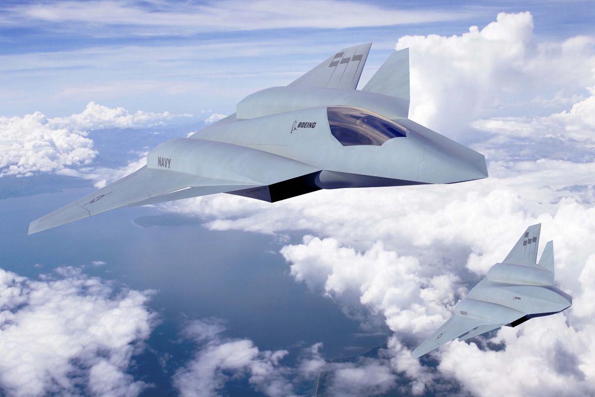 Американские военные испытали новейший истребитель шестого поколения