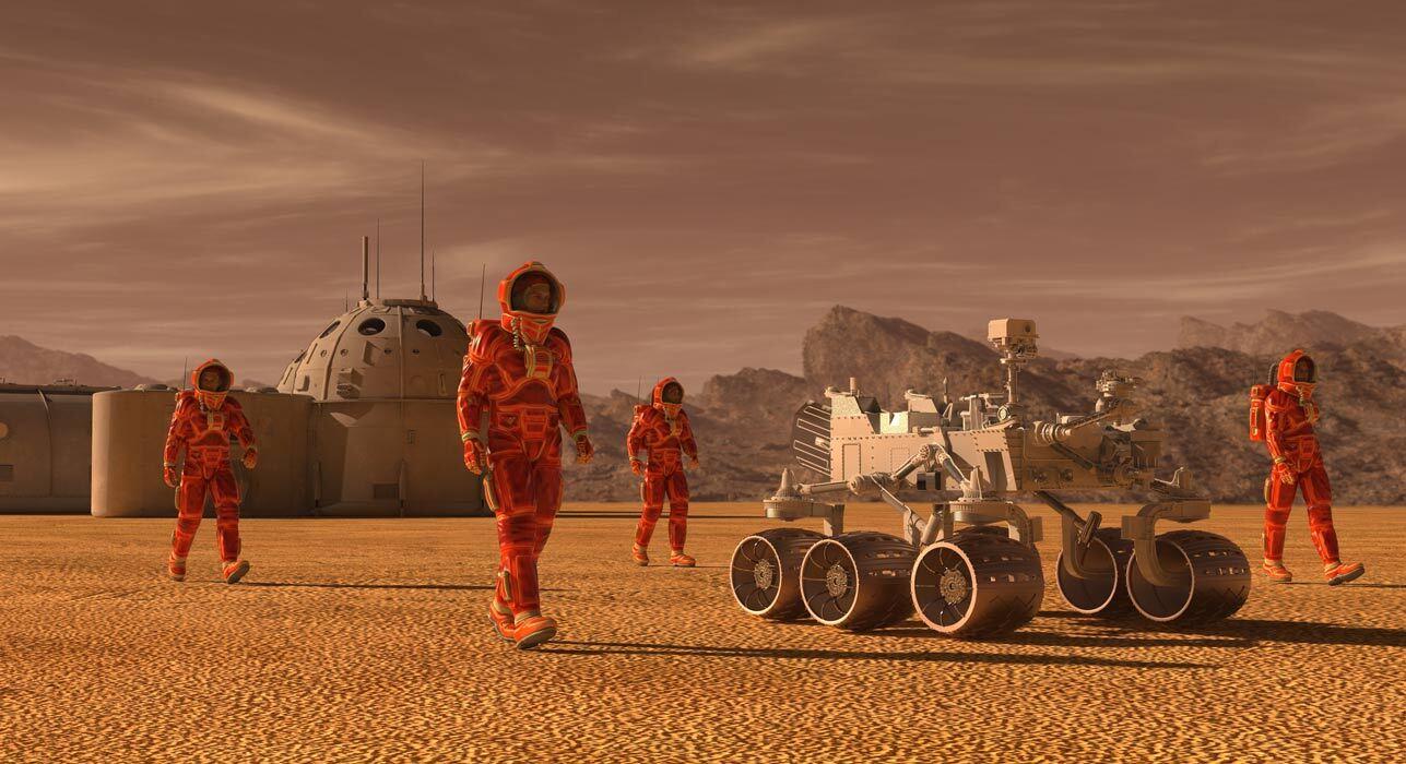 Ученые заявили, что следы наличия жизни на Марсе могли быть уничтожены