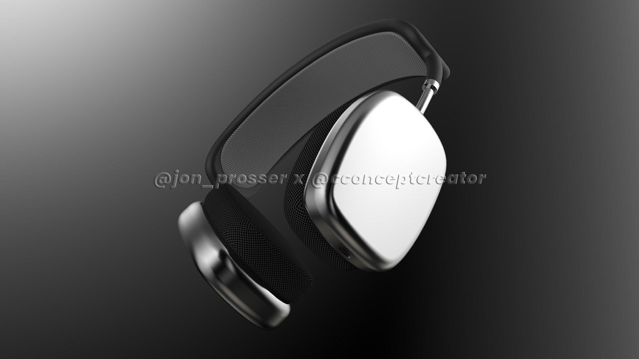 Опубликованы качественные изображения полноразмерных наушников Apple AirPods Studio