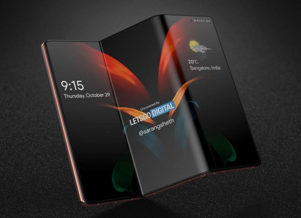 Раскрыты характеристики и цена нового складного флагмана Samsung Galaxy Z Fold 3