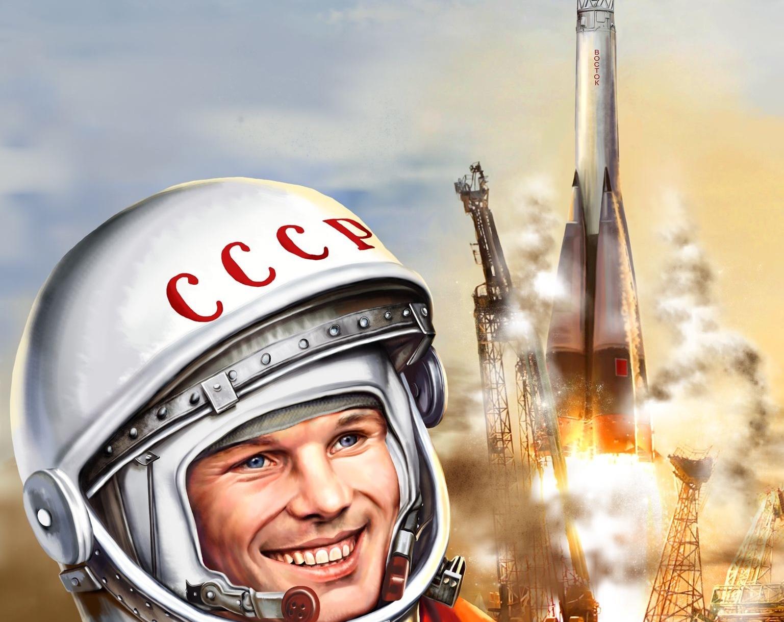 Российскую ракету «Союз» украсят портретом Гагарина накануне годовщины его полёта