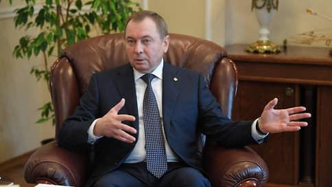 «У нас есть большой опыт жизни под санкциями» // Глава МИД Белоруссии об инциденте с самолетом, противостоянии с Западом и интеграции с Россией