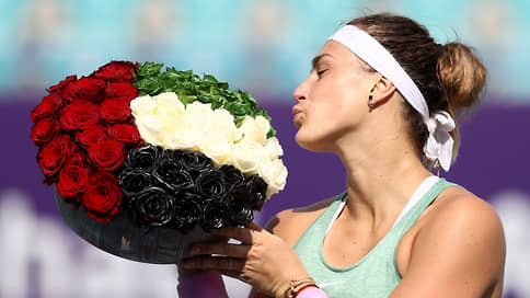 Белорусское начало // Теннисистка Арина Соболенко выиграла первый турнир WTA 2021 года