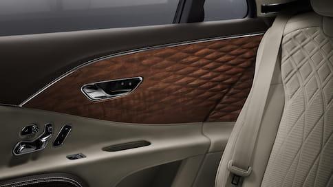 Bentley Flying Spur получил деревянную 3D-отделку