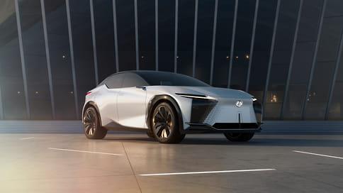 Lexus раскрыл концепт-кар LF-Z Electrified