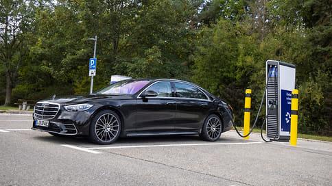 Новый Mercedes-Benz S-Class стал гибридом