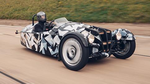 Morgan анонсировал новый 3-колесный автомобиль