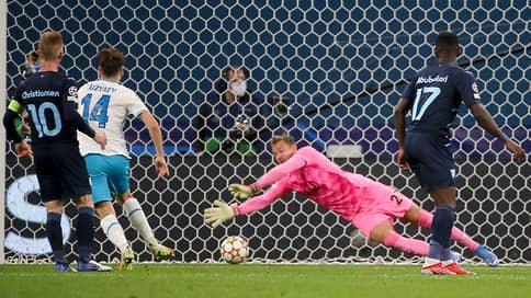 «Зенит» поднялся над «Ювентусом» // Во втором туре группового этапа он забил четыре мяча «Мальмё»