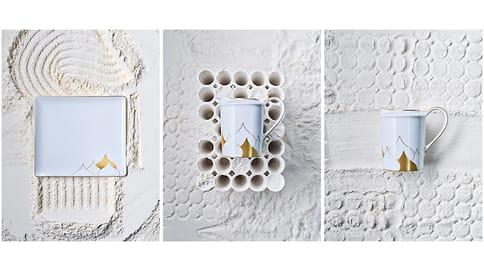 Художник Дмитрий Логинов оформил чайный сервиз для Cartier