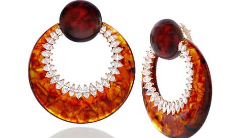 Ювелирный бренд Fawaz Gruosi представил коллекцию с янтарем