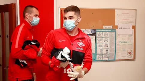 Коронавирус выявлен у двух футболистов «Спартака»