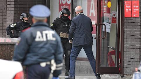 Неизвестный захватил заложников в банке в центре Москвы