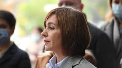 Президент Молдавии заявила о желании посетить Россию