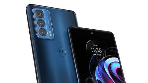 Флагманский смартфон Motorola Edge 20 Pro поступит в продажу в России