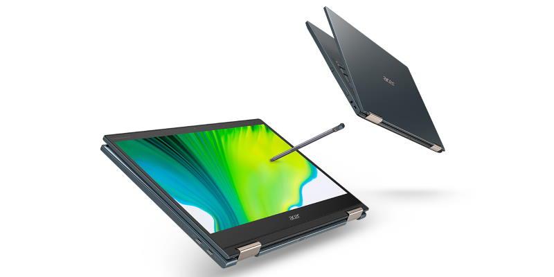 Acer представила ноутбук Spin 7 с процессором Snapdragon и поддержкой 5G