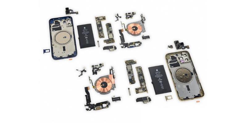Полная разборка от iFixit: что интересного внутри iPhone 12 и 12 Pro?