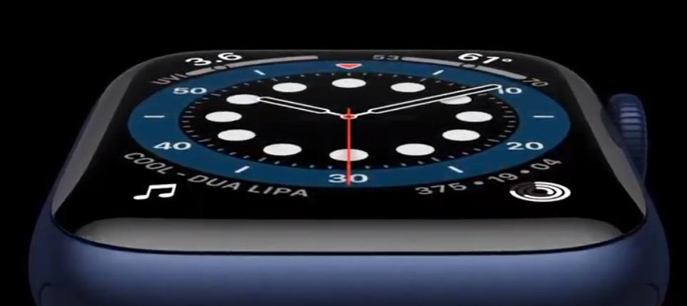 Представлены смарт-часы Apple Watch Series 6