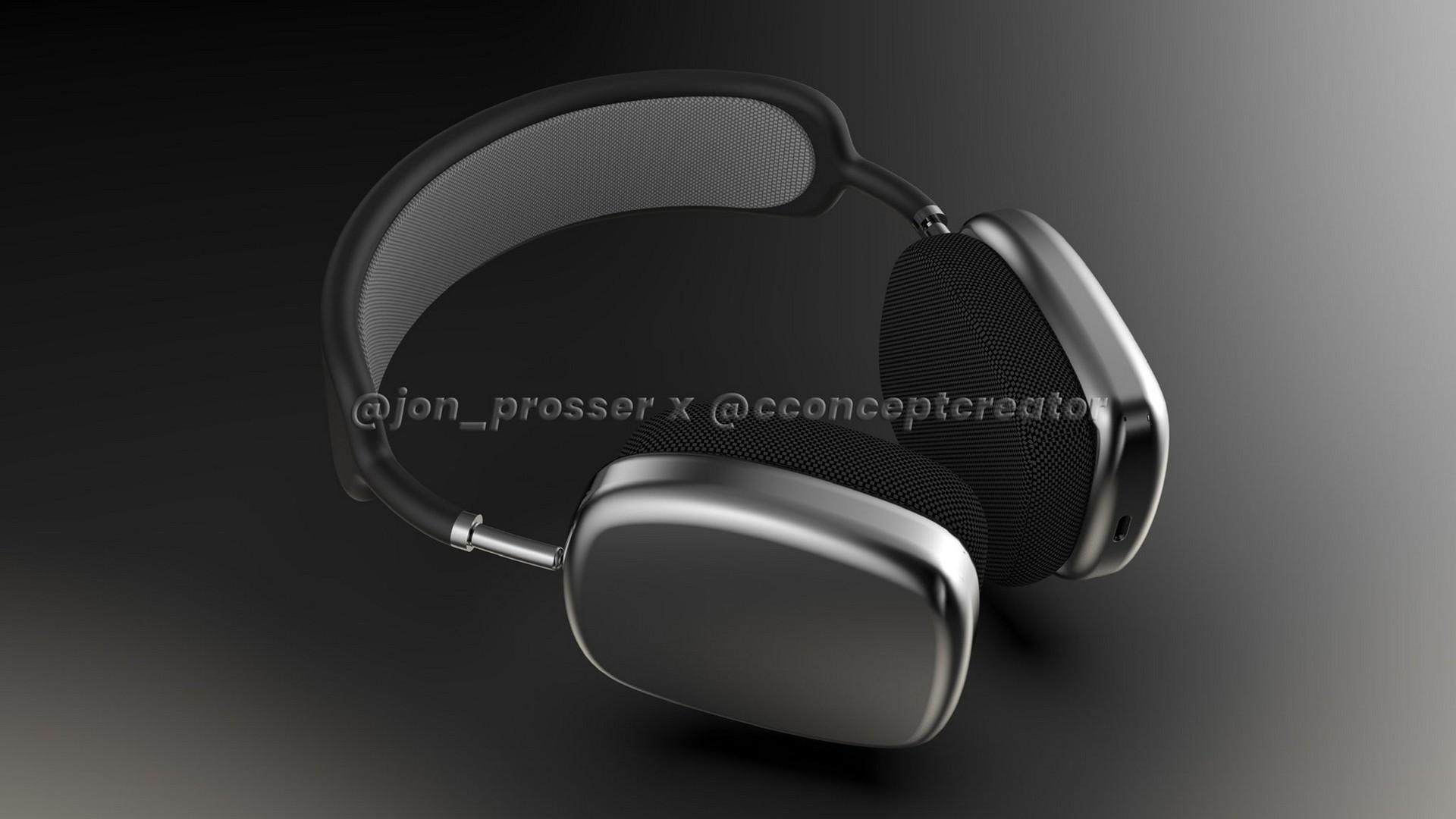 Так будут выглядеть полноразмерные наушники Apple AirPods Studio