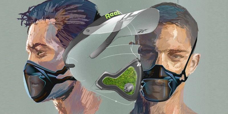 Reebok представил инновационные спортивные маски