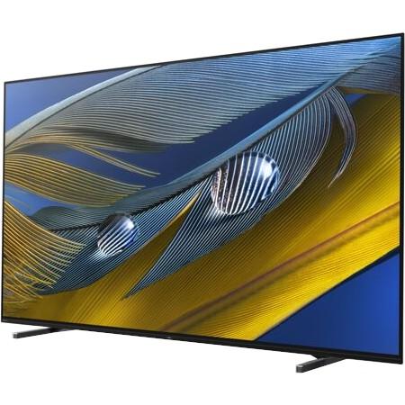 OLED-телевизор Sony Bravia XR-65A80J: строгий дизайн, настоящий черный цвет, звук непосредственно с поверхности экрана и оболочка Google TV