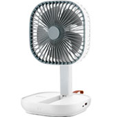 Компактный аккумуляторный вентилятор Kitfort KT-404: для пикника, маршрутки и офиса