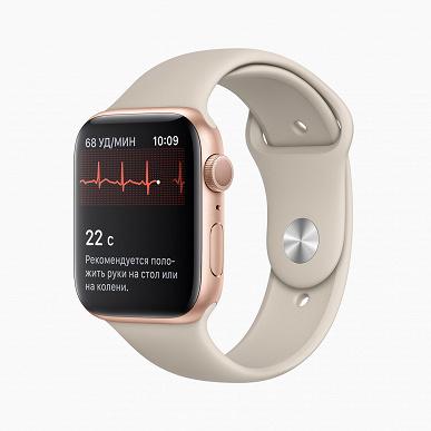 Свершилось: пользователи Apple Watch в России дождались ЭКГ