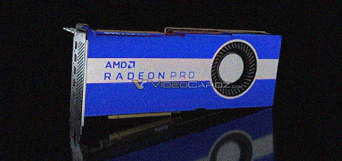 Предварительные данные о видеокарте AMD Radeon Pro VII появились накануне анонса