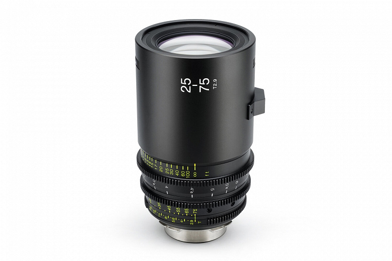 Анонсирован выпуск объектива Tokina Cinema 25-75mm T2.9