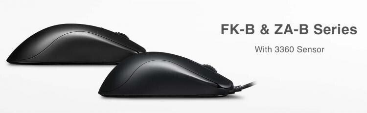 У новых мышей BenQ серий Zowie FK-B и ZA-B есть одно важное отличие от их предшественниц