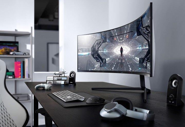 Первый в мире игровой монитор разрешением Dual Quad с частотой 240 Гц от Samsung поступил в продажу