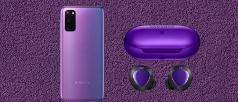 Спецверсии Samsung Galaxy S20+ и Galaxy Buds+ выходят 9 июля
