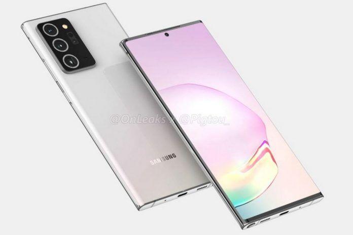 Samsung Galaxy Note20 оказался игровым смартфоном