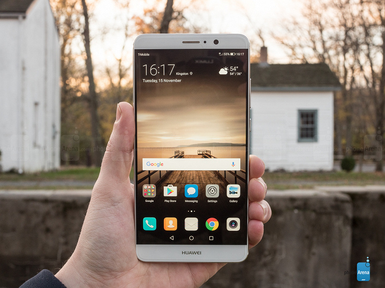 Флагман Huawei 2016 года получил огромное обновление в Европе
