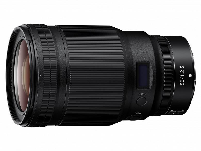 Систему Nikon Z пополнил объектив Nikkor Z 50mm f/1.2 S