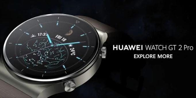 Huawei Watch GT 2 Pro — первые умные часы с операционной системой HarmonyOS