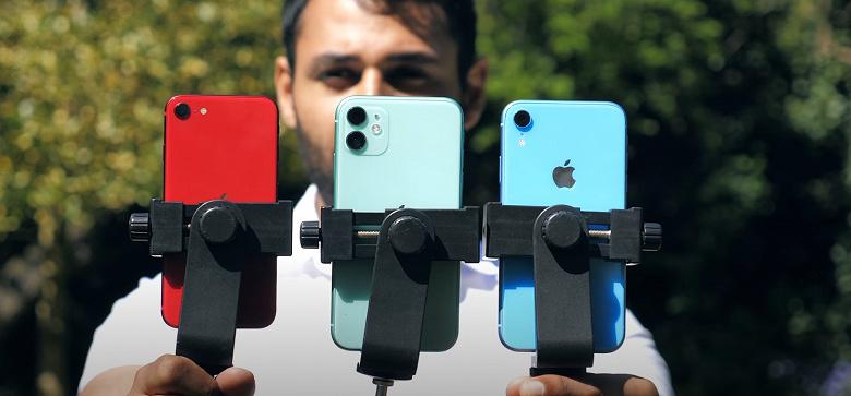В iPhone SE установлена камера, как в iPhone 8. Но насколько новинка хуже iPhone XR и iPhone 11?