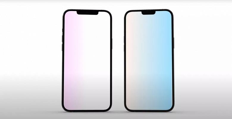 Первое сравнение iPhone 13 и iPhone 12, а также изображение оранжевого iPhone 13 Pro