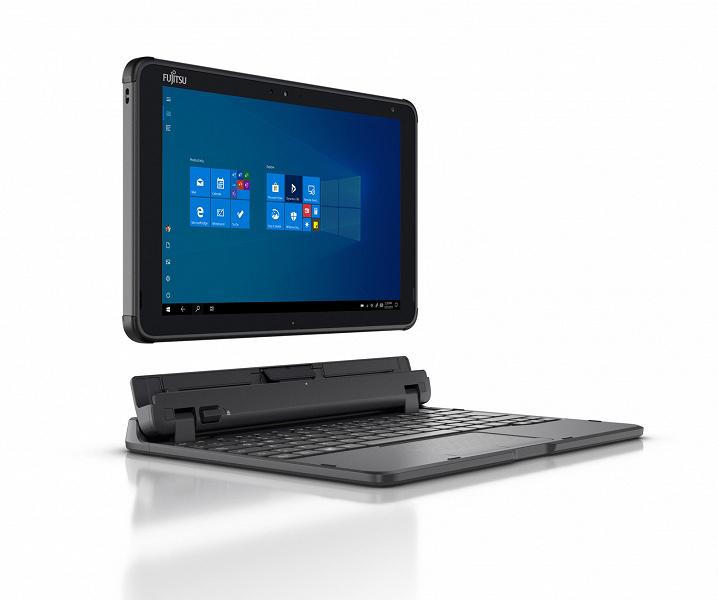 Основой защищенного планшета Fujitsu Stylistic Q5010 служит процессор Intel Pentium Silver N5030