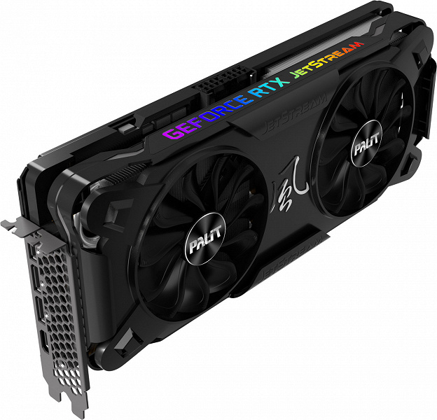 Представлена серия видеокарт Palit GeForce RTX 30 JetStream