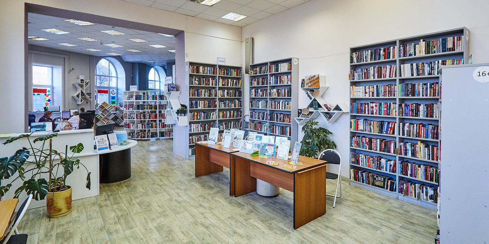 В Нагатино-Садовниках отремонтируют библиотеку № 136