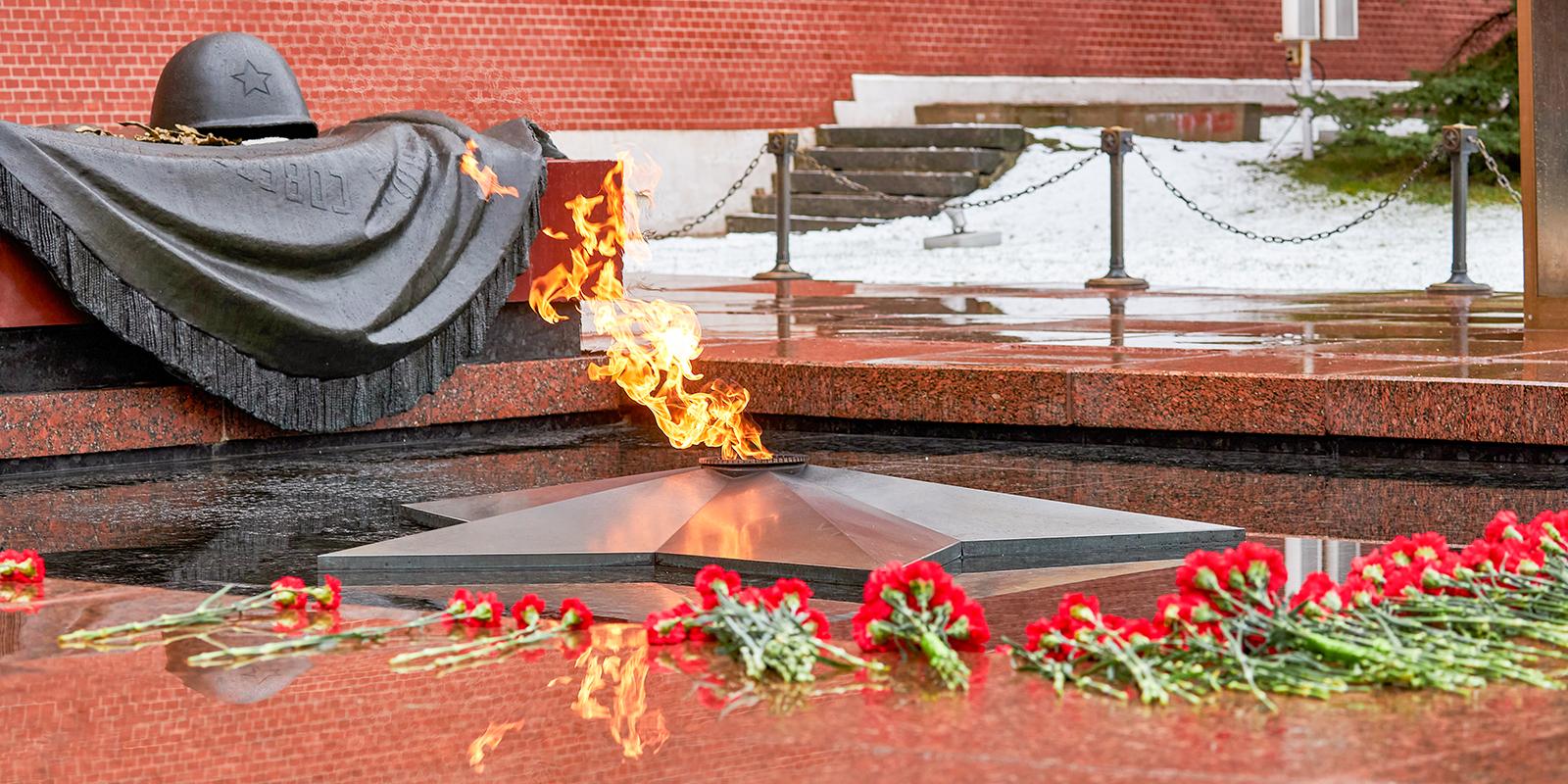Мосгаз провел профилактику Вечного огня в преддверии Дня защитника Отечества