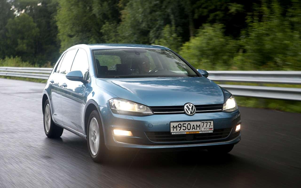 118 000 км с VW Golf VII: робот просит масла