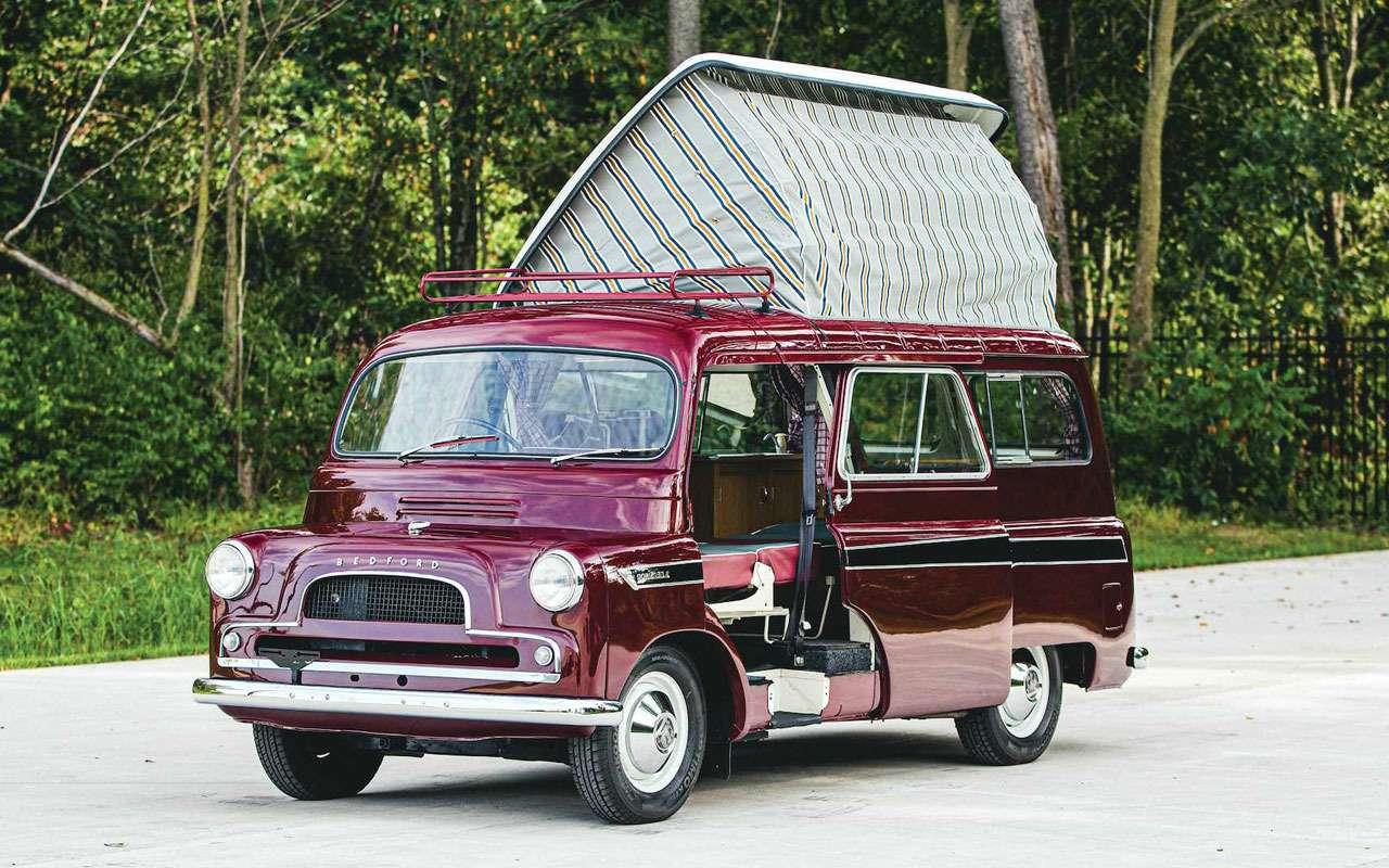 Первый британский кемпер 1961 года выставили на продажу