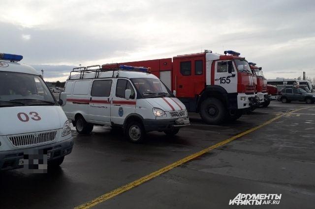В Санкт-Петербурге при пожаре в многоэтажке погибли два человека