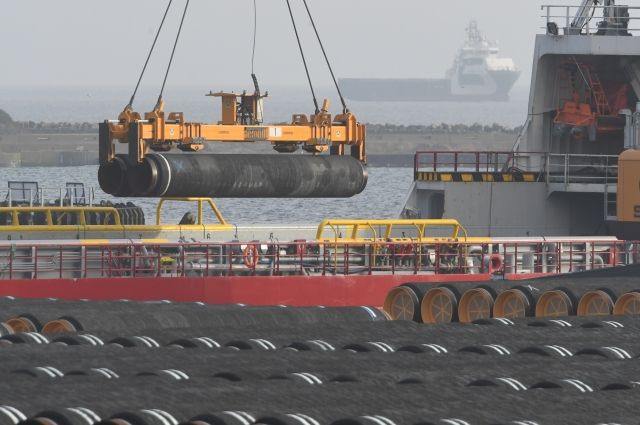 Германия выразила опасения из-за санкций США против «Северного потока-2»