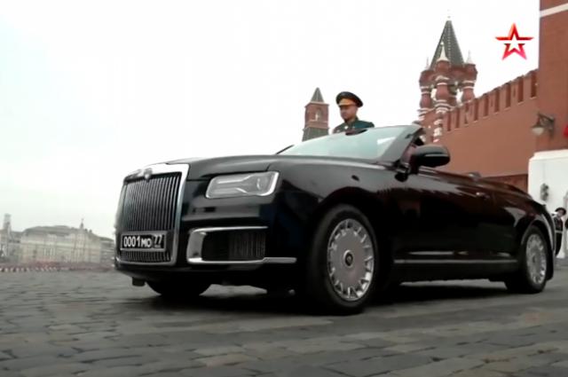 Появилось видео с результатами краш-теста автомобиля Aurus