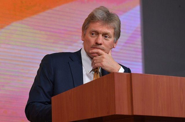 В Кремле констатировали наличие внешнего вмешательства в дела Белоруссии